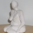 Seated Woman: Clay
